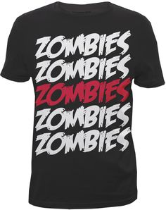Can't get enough zombies ~ graphic tshirt Designed for Bluenotes