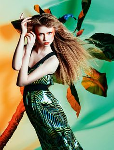 producao de moda inpirada tropicalismo - Pesquisa Google