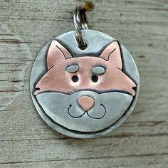 Dog Tag Dog ID Tag Pet Tag Dog Tags Custom-Shiba by DoggoneTags