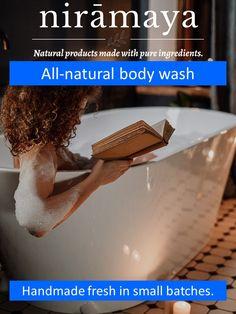 nirāmaya All-Natural Body Wash