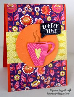 October 2014 Handmade Creations by Stephanie: Coffee Lovers Blog Hop