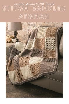 YOU CAN DO IT!   Master exciting new crochet skills every month as you create a beautiful heirloom-quality afghan you'll treasure for years to come. Join today!