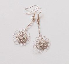 3 Dainty Crochet Wire Earring Tutorials