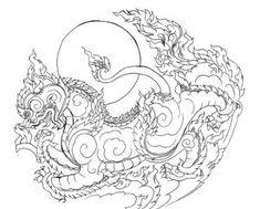 Traditional Paintings, Traditional Art, Tatoo Thai, Koi, Larp, Khmer Tattoo, Cambodian Art, Samurai, Sak Yant Tattoo