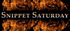 Snippet Saturday-- Men (and Kisses) Hotter Than Flame | Official website of Leah Braemel