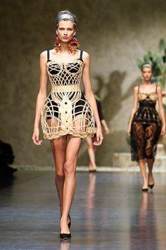 STYLING Fashion Art :: Dolce & Gabbana S/S 2013