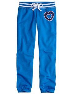 Sports Fleece Cuff Sweatpants   Girls Sweatpants Clothes   Shop Justice