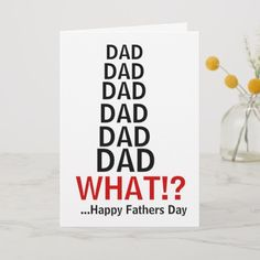 Funny Irritating Dad Fathers Day card perfect fathers day gift, gifts for dads birthday, fathersday gifts Irritating Dad Fathers Day card Diy Birthday Gifts For Dad, Dad Birthday Quotes, Last Minute Birthday Gifts, Diy Gifts For Dad, Dad Birthday Card, Diy Father's Day Gifts, Father's Day Diy, Birthday Diy, Girlfriend Birthday