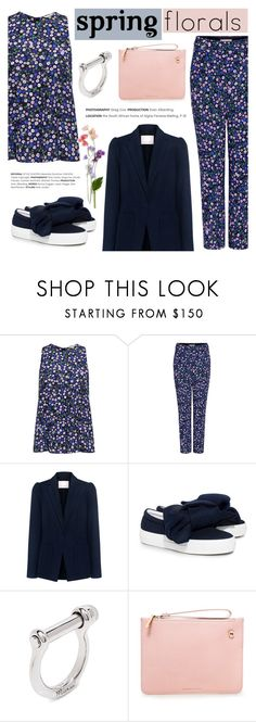 """""""Spring Florals"""" by ifchic ❤ liked on Polyvore featuring Rebecca Taylor, Joshua's, Karen Walker and contemporary"""
