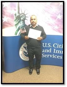 We are excited to announce that Moises Hernandez has become a U.S. citizen!  Your hard work and dedication has paid off!  We welcome you to the American family, and we wish you much success and happiness in your new life as a U.S. citizen.  Congratulations!   http://waynebrothers.com/Careers/ConstructionJobs.aspx