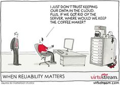 Always a good reason not to change Cloud Computing, Clouds, Cartoons, Life, Change, Google Search, Business, Funny, Humor