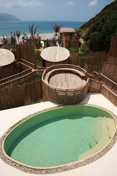 Six Senses Spa pool and relaxation area @Tess Pias Pias Rafferty Senses Con Dao