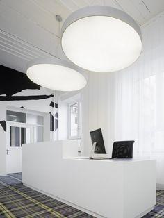 "reception | office | ""studio ippolito fleitz group | stuttgart, germany."