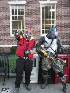Bebop & Rocksteady from TMNT