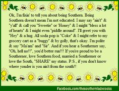 SOUTHERNERS...