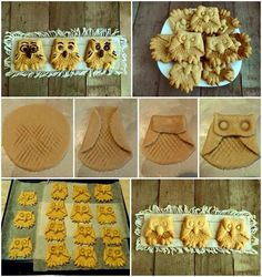 Stylish Board Enjoy These Adorable Owl Cookies Owl Cookies, Cupcake Cookies, Biscuit Cupcakes, Cookie Time, Weird Food, Crazy Food, Bread Cake, Turkish Recipes, Food Humor