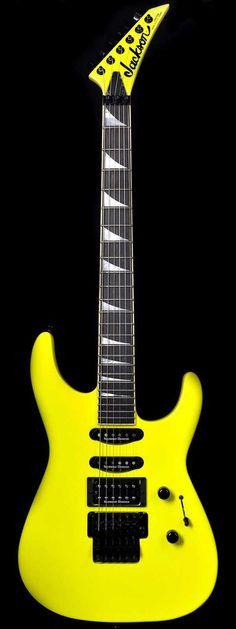 Jackson USA Custom Shop Select SL1 Soloist Neon Yellow $469.00