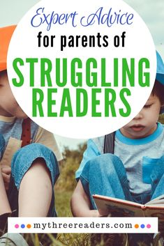 Expert Advice for Struggling Readers - 25 of the Leading Reading & Literacy Experts in the industry tell you what to do if your child is a struggling reader. #strugglingreaders #reading #parentingtips