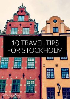 10 Travel Tips for Stockholm, Sweden. // Tipping etiquette, how to dine and drink without breaking the bank, where to find the best views, and more!