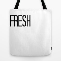 Fresh Tote Bag by dewice - $22.00