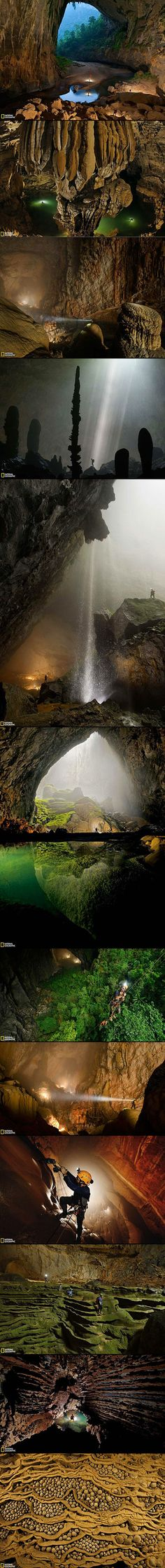 There are many things that make the Son Doong Cave in Vietnam a remarkable natural wonder; at about 9km in length, 200m in width and 150m in height, it is the largest cave in the world, with caverns capable of fitting entire city streets and skyscrapers. It is home to a river, jungles, and entire cave ecosystems. Only slightly less remarkable is the fact that, until 2009, we did not even know how grandiose and impressive Son Doong (or Mountain River) Cave really is.