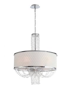 Casey Chandelier from Art Deco-Inspired Style on Gilt
