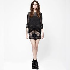 All Saints Style Punk Rock Fashion, Look Fashion, Urban Fashion, Fashion Brand, Womens Fashion, Quoi Porter, Winter Trends, Jumpers For Women, Shoes