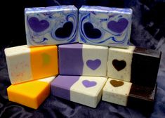 After all the business of the holidays, I wanted to take a simple approach to my soaps and yet still do a bit for Valentine's Day. So I went with some embed soaps, using four Heart tube molds and o… Bakery Business Plan, Diy Molding, Cold Process Soap, Soap Molds, Soap Recipes, Goat Milk, Handmade Soaps, Candle Making, Soap Making