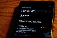 [Windows Phone] Les développeurs pourraient bientôt répondre aux commentaires des utilisateurs –