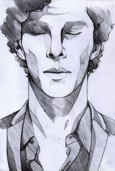 Image result for line drawings faces