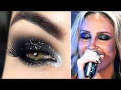 Tutorial de Maquiagem inspirada na Claudia Leitte - YouTube