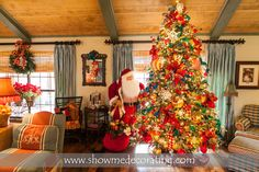 Beautiful French Country Christmas tree