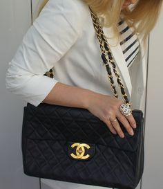 8da10b22adf1 Some girls dream of gucci.but this girl dreams of Chanel! coco · VINTAGE  CHANEL JUMBO