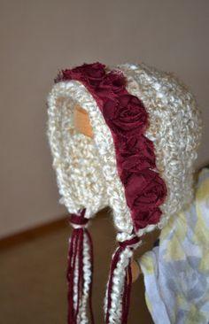 Crochet Vintage Bonnet