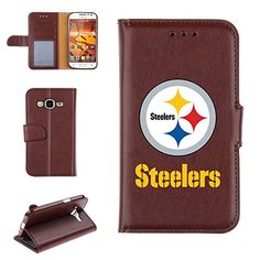 Pittsburgh Steelers NFL Football Tech Wallet Case For Samsung Galaxy Grand Prime  G530 -- For more information, visit image link.