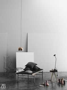 CGarchitect - Professional 3D Architectural Visualization User Community   [Match a photo] Daybed by Menu Denmark