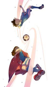 Inazuma Eleven Jude et Caleb Fanarts Anime Manga, Anime Art, Anime Guys, Los Super Once, Jude Sharp, Evans, World Of Gumball, Inazuma Eleven Go, Another Anime