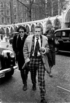 John Lydon shows effortless style....