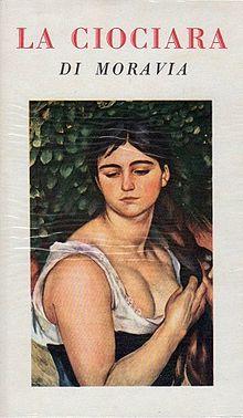 First edition of La Ciociara (Two Women) by Alberto Moravia, 1958.