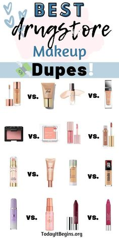 I am a passionate lover of dupes. I even sometimes buy products that are considered a dupe when I wasn't all that interested in the high-end version! Beauty Dupes, Diy Beauty, Beauty Makeup, Skincare Dupes, Beauty Advice, Beauty Style, Beauty Hacks, Best Drugstore Dupes, Drugstore Beauty