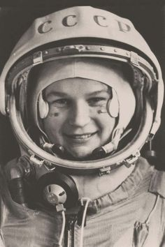 Valentina Vladimírovna Tereshkova, la primera viajera espacial