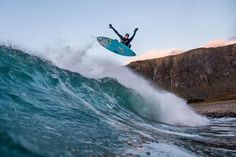 Backstage with Mick Fanning in the Arctic Circle