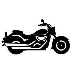 stunning view of a motorcycle silhouette vector free download rh pinterest com Harley-Davidson Motorcycle Clip Art Motorcycle Biker Clip Art