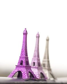 What's better than the Eiffel Tower? 3 Eiffel Towers!