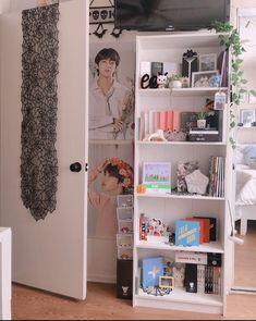 Bedroom Decor For Couples, Room Ideas Bedroom, Diy Bedroom Decor, Ideas Decorar Habitacion, Army Room Decor, Decor Room, Aesthetic Room Decor, Dream Rooms, Fashion Room