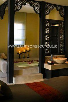 Jali screens | Moroccan Wood Lattice Screens | Moorish Wood Screens | Islamic latticework.