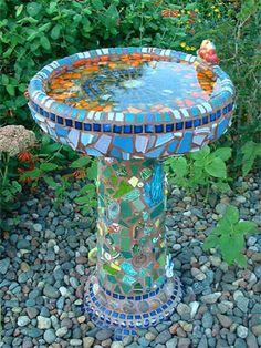 bildergebnis für mosaik selber machen garten | bemalte stühle, Gartenarbeit ideen
