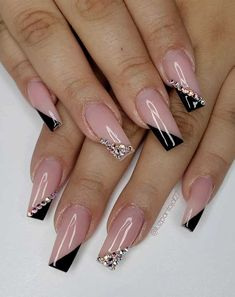 Try These Fashionable Nail Ideas That'll Boost Your Fall Mood - 49 nail art designs that perfect for fall and winter, coffin nail art designs, almond nail art desi - Dark Nail Designs, Nail Art Designs Images, Cute Acrylic Nail Designs, Almond Nails Designs, Acrylic Nails Coffin Short, Fall Acrylic Nails, Coffin Nail, Dope Nails, Swag Nails