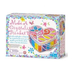 00-02712 Make A Crystalite Trinket Box #Trinket #box, #Beads, Glue Price: S$8.00