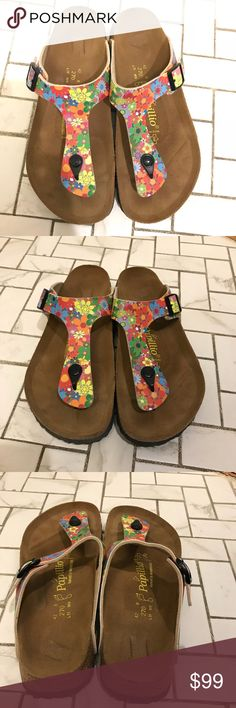 b733113512e Birkenstock Papillio Floral Sandal Brand new and without tags. Light mark  on footbed if store